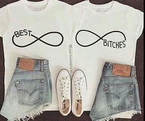 bff, outfit, and best bitches image