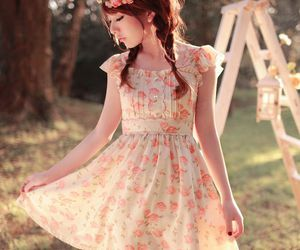 cute, dress, and fashion image