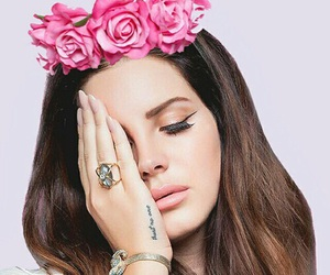 lana del rey, pink, and wallpaper image