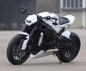 bike, motorbike, and white image