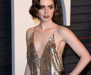 smile, lily collins, and hermosa image