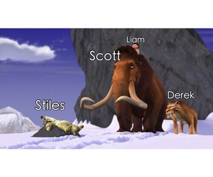 teen wolf, liam, and stiles image