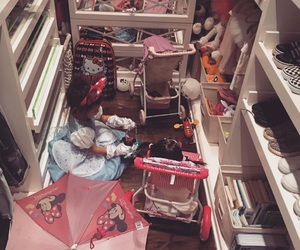 closet, messy, and north west image
