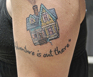 up, adventure, and tattoo image