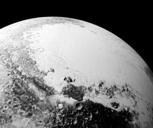 space, pluto, and planet image
