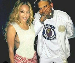 chris brown and beyoncé image