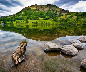 britain, lake, and nature image