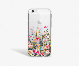 etsy, vintage floral, and iphone 6 plus case image