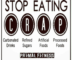 crap, fitness, and food image