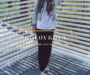 hijab, alexandra golovkova, and clothes image
