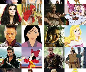 disney, once upon a time, and princess image