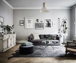 apartment, black, and home image
