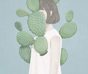aesthetic, cactus, and bob image