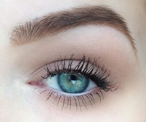 brow, eyebrow, and mascara image