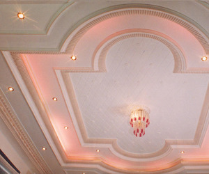 aesthetic, architecture, and ceiling image