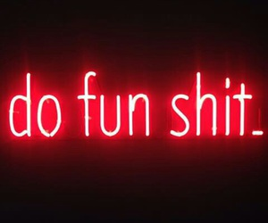 neon and quote image