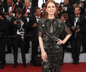 cannes, julianne moore, and red carpet image