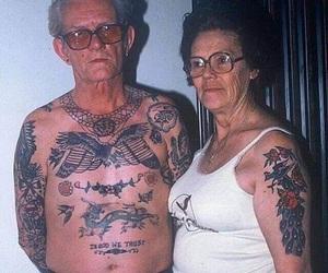 tattoo, couple, and tatto image