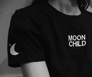moon, grunge, and aesthetic image
