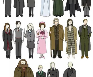 harry potter, hp, and harry image