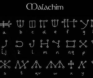 symbol, malachim, and sign image