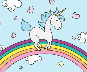 wallpaper and unicorn image