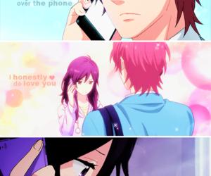 anime, love, and rainbow days image