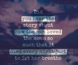 breathe, Died, and love image