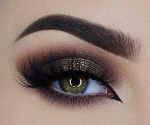makeup, fashion, and eyebrows image