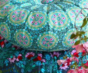 amy butler, pillows, and floral image
