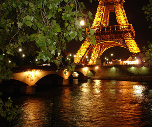 lights, night, and paris image