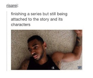 book, characters, and fandom image