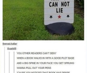 funny, books, and fandom image