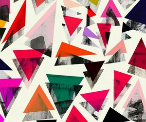 triangle, background, and wallpaper image