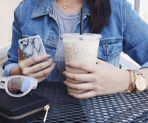 fashion, iphone, and sunglasses image