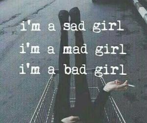 alone, dark, and sad image