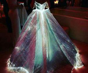 dress, light, and luz image