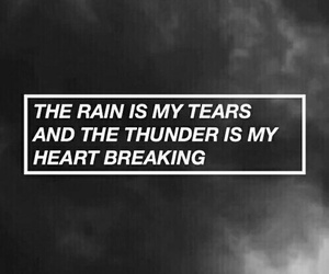 quotes, rain, and grunge image