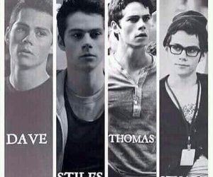teen wolf, dylan o'brien, and dave image