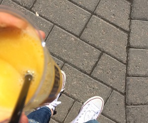 converse, jeans, and juice image