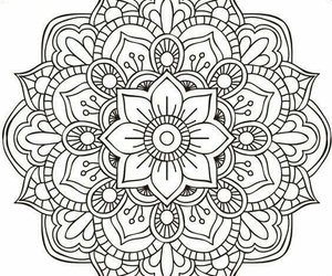 mandala, drawing, and arte image