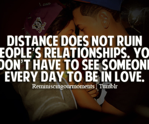 cute couple, distance, and love quotes image