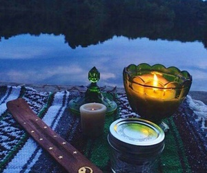 candle, hippie, and nature image
