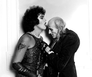 riff raff, rocky horror picture show, and Tim Curry image