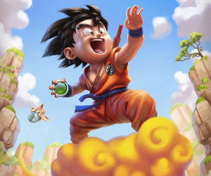 goku, dragon ball, and anime image