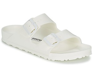 birkenstock, all white, and sandals image