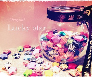 lucky stars and origami image