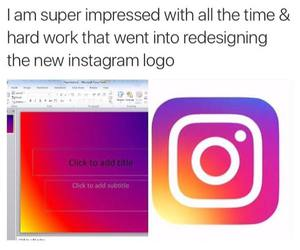 funny, Logo, and instagram image
