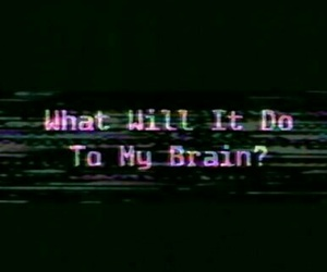 black, brain, and quote image