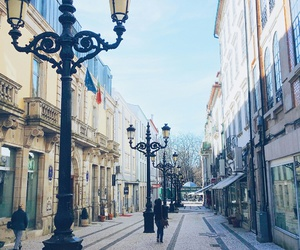 city, lamps, and portugal image